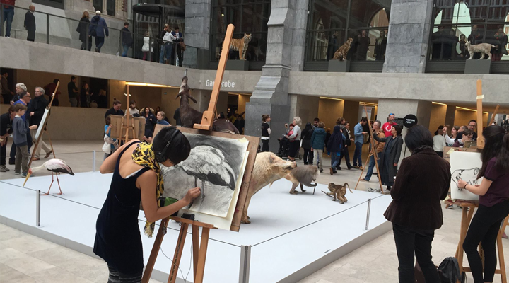 The Big Draw – Rijksmuseum Amsterdam 2016