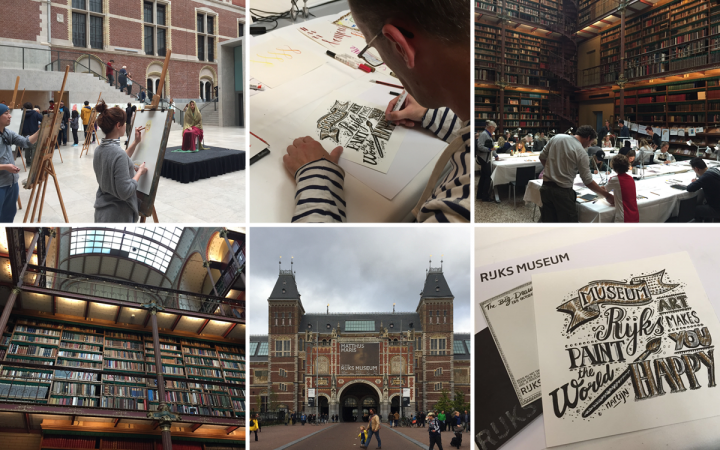 The Big Draw – Rijksmuseum Amsterdam 2017