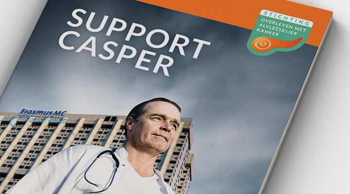 Support Casper – Baanbrekend onderzoek tegen alveesklierkanker