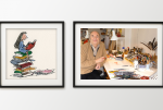 Exhibition Quentin Blake, House of the Book | Museum Meermanno The Hague