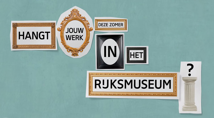 Drawing contest Rijksmuseum, Amsterdam