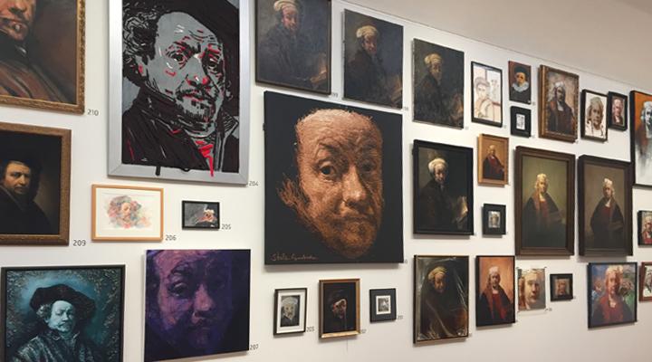 Exhibition Long Live Rembrandt, Rijksmuseum Amsterdam